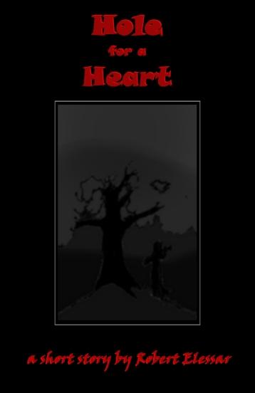 holeforaheartredgreywith frame