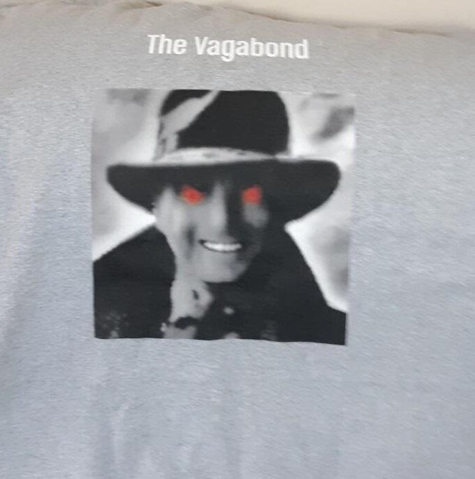 Vagabond tee cropped ha ha